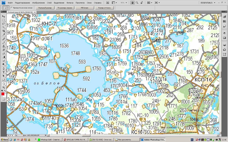 Карта кустов на самотлорском месторождении смотреть