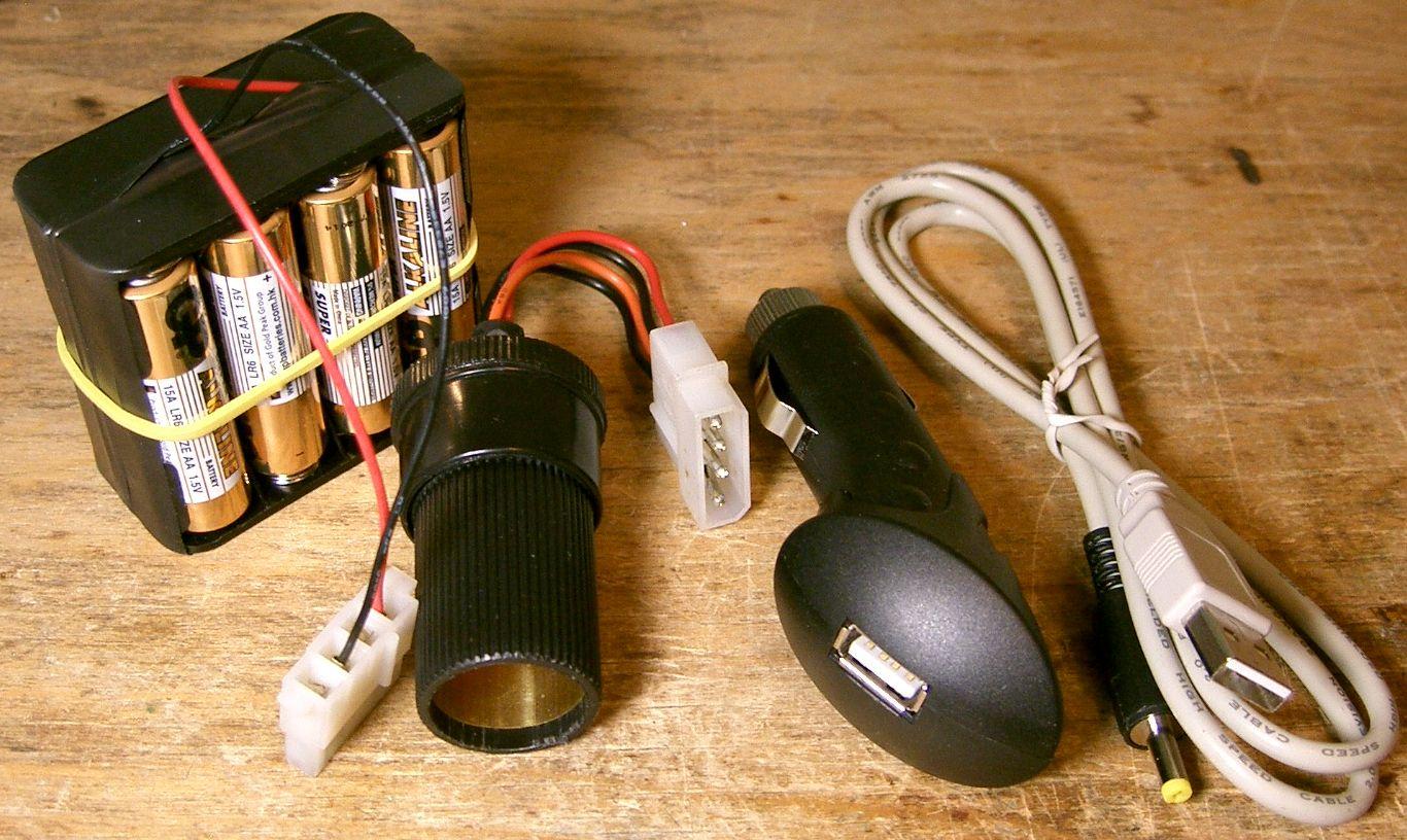Автономное зарядное для мобильного телефона своими руками