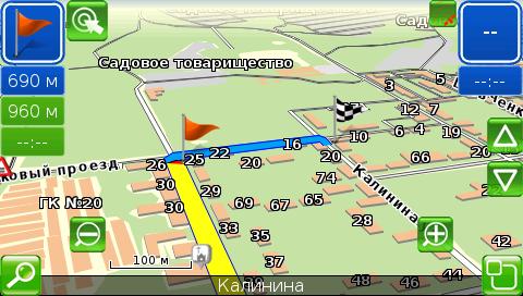 Как сделать обновление карты в навигаторе